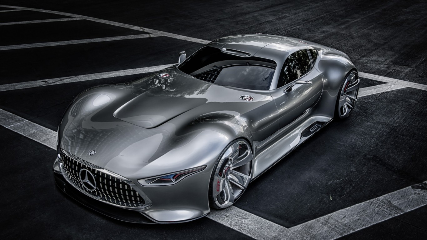 Mercedes Benz Amg Vision Gran Turismo Supercar Wallpaper 1920x1200