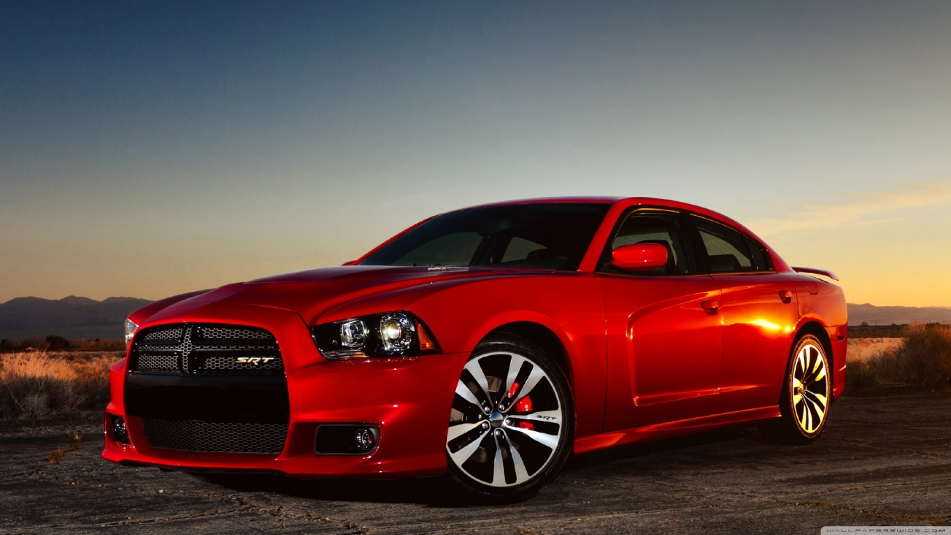 Red Dodge Charger Srt8 Wallpaper 2880x1620