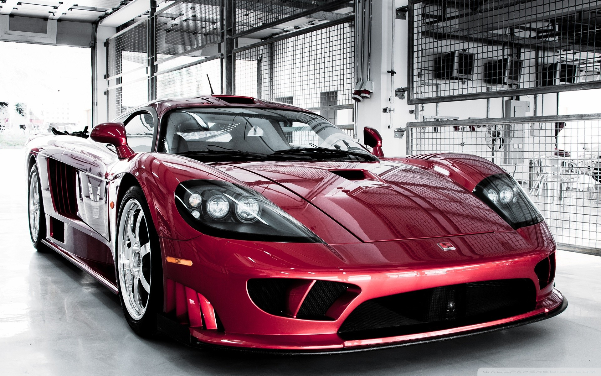 Saleen S7 Twin Turbo Red Wallpaper 1920x1200